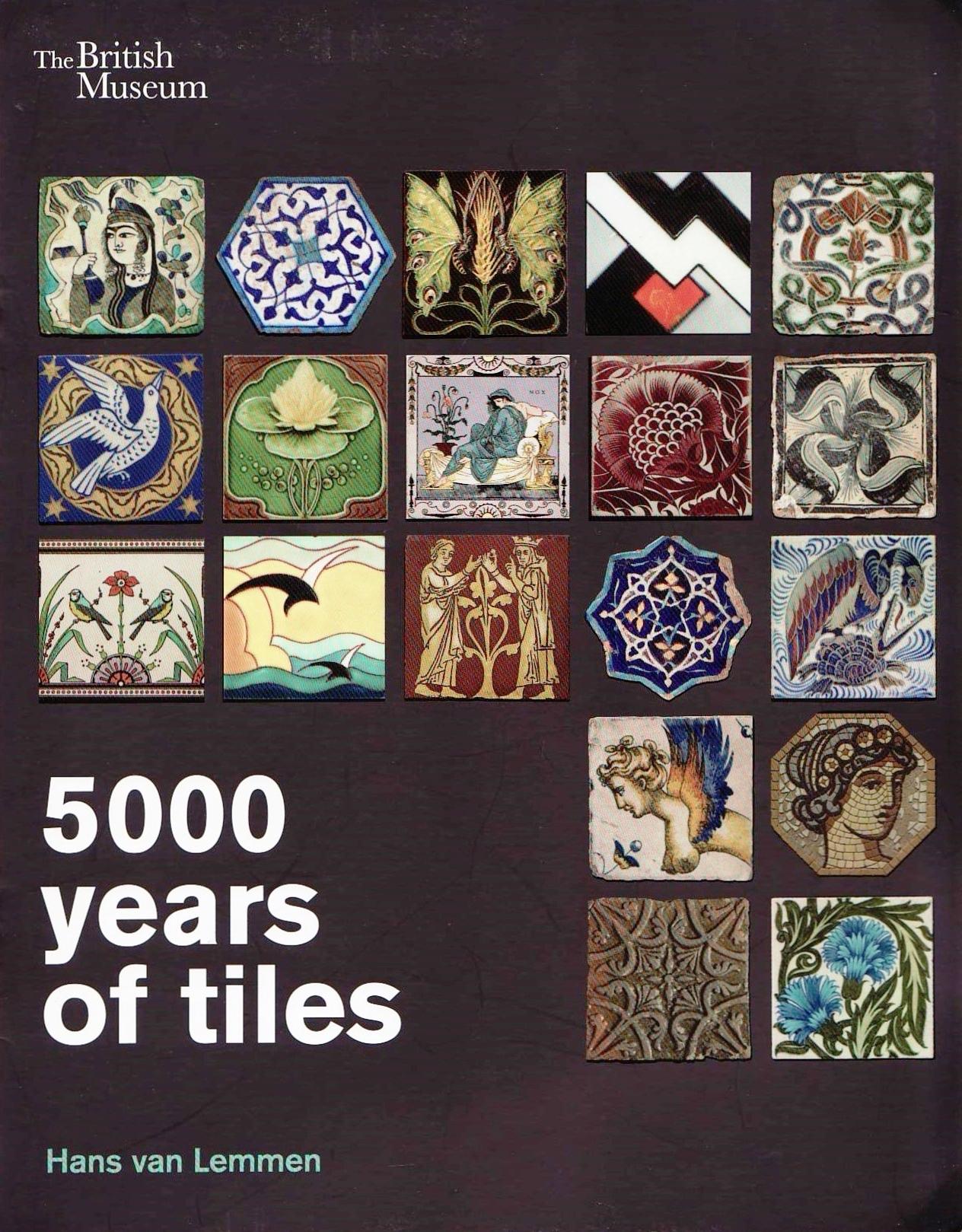 Hans van lemmen historical tiles books on tiles book cover 21 dailygadgetfo Images