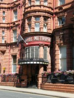 Metropole Hotel in King Street designed by Chorley & Connon, 1890,  decorated with red terracotta made by the firms J.C. Edwards in Ruabon, Wales