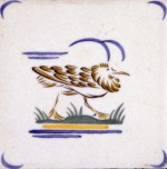 Tile designed by Harold Stabler and made by Carter & Co., c.1938