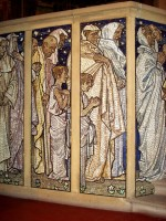 Mosaics by Frank Brangwyn at St. Aiden's Chuch, Roundhay Road,  1909-16