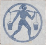 Tile made by Dunsmore, c. 1930