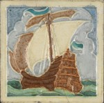 Tile made by Candy Tiles, c. 1920