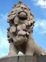 Westminster Bridge Lion, 1839