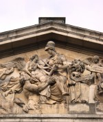Nelson Pediment, Old Royal Naval Hospital, Greenwich, 1812