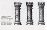 Doulton & Co., Tudor-style chimney pots, 1851