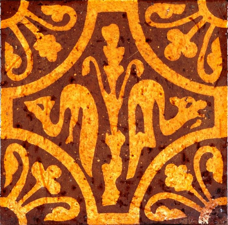 encaustic church tile