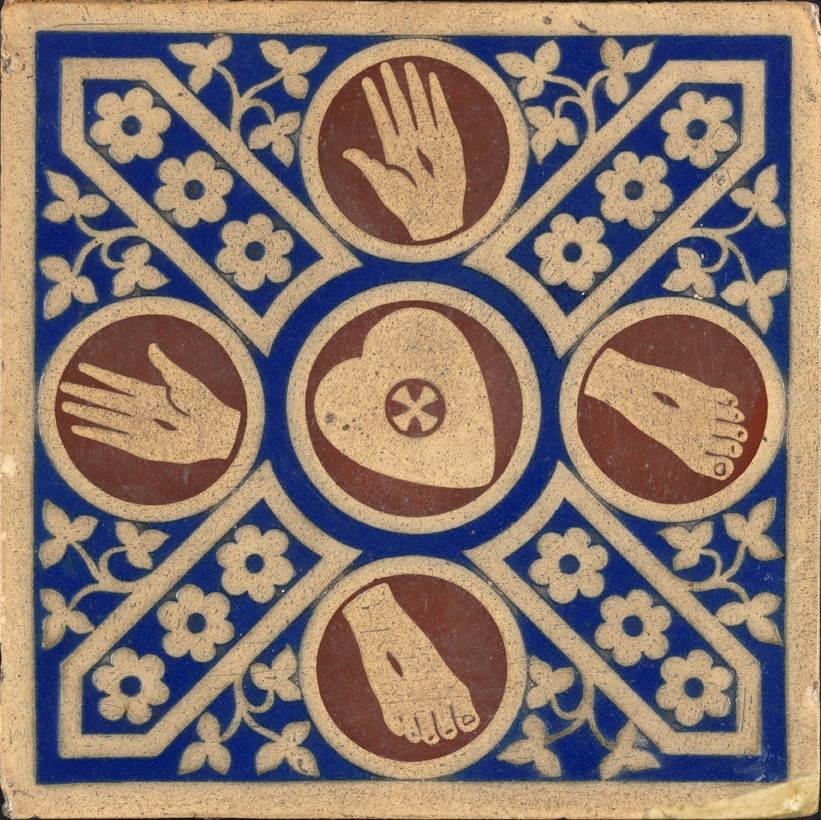 encaustic church tile